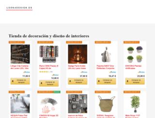 look4design.es screenshot