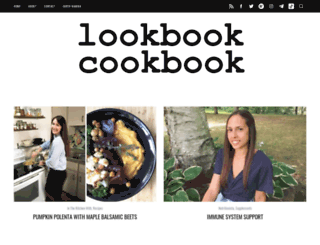 lookbookcookbook.com screenshot
