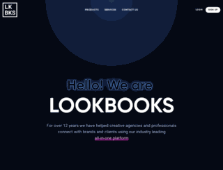 lookbooks.com screenshot