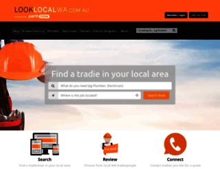 looklocalwa.com.au screenshot