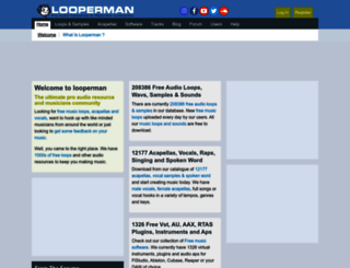 looperman.com screenshot