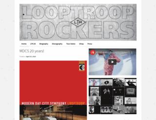 looptrooprockers.com screenshot