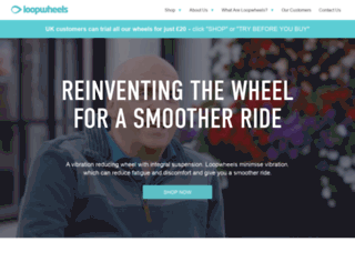 loopwheels.com screenshot