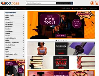 loot.co.za screenshot