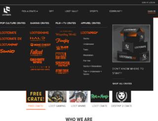 lootcrate-qa.herokuapp.com screenshot