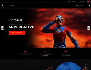 lootcrate.com screenshot