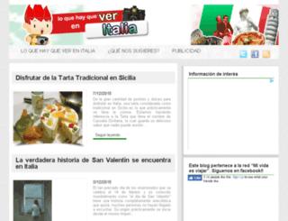 loquehayqueverenitalia.es screenshot