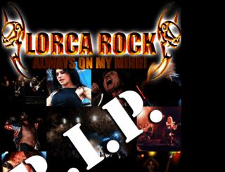 lorcarockfestival.com screenshot