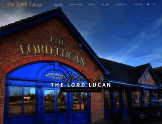 lordlucanpub.com screenshot