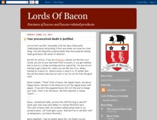 lordsofbacon.com screenshot