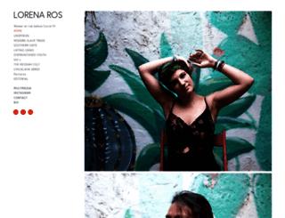 lorenaros.com screenshot