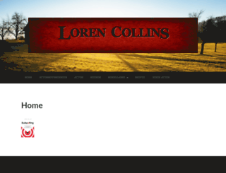 lorencollins.net screenshot