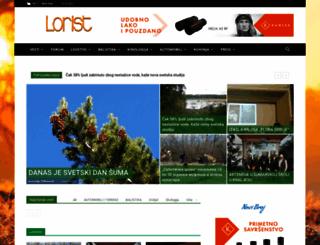 lorist.co.rs screenshot