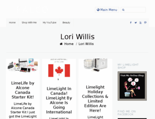 loriwillis.com screenshot