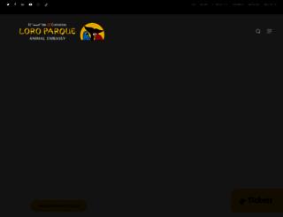 loroparque.com screenshot