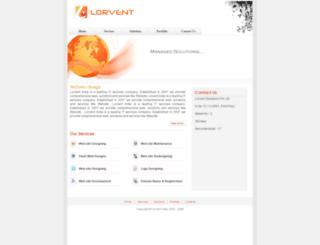 lorventindia.com screenshot