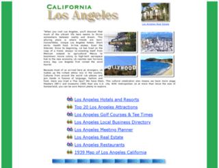 los-angeles-california.com screenshot