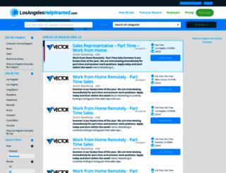 losangeleshelpwanted.com screenshot