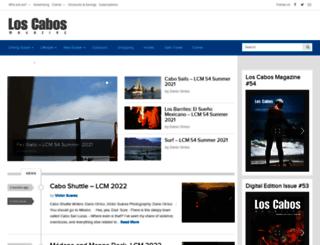 loscabosmagazine.com screenshot