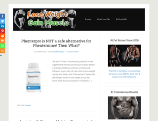 loseweight-gainmuscle.org screenshot