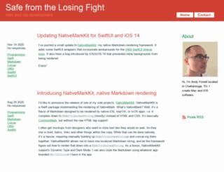 losingfight.com screenshot