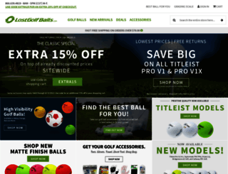 lostgolfballs.com screenshot