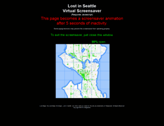 lostinseattle.com screenshot