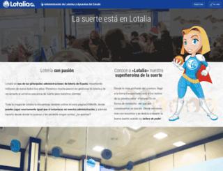 lotalia.com screenshot