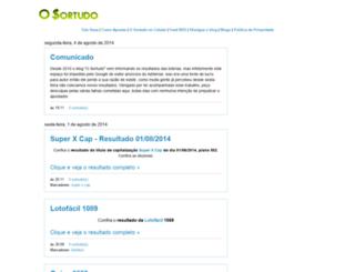 loterias-sorte.blogspot.com.br screenshot
