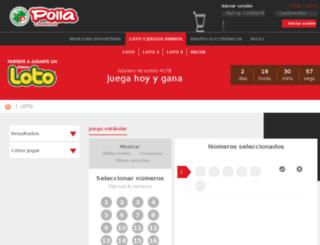 loto.cl screenshot