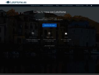 lotohome.es screenshot