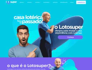 lotosuper.com.br screenshot