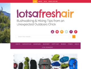 lotsafreshair.com screenshot
