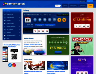 lottery.co.uk screenshot