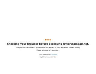 lotterysambad.net screenshot