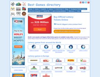 lotto-games.com screenshot