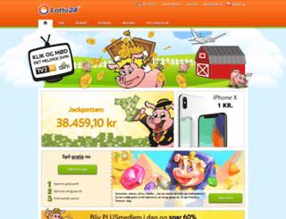 lotto24.dk screenshot