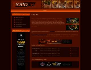 lottobot.net screenshot