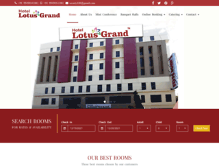 lotusgrandhotel.com screenshot