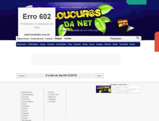 loucurasdanet.com screenshot