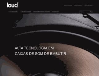 loudaudio.com.br screenshot