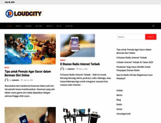 loudcity.com screenshot