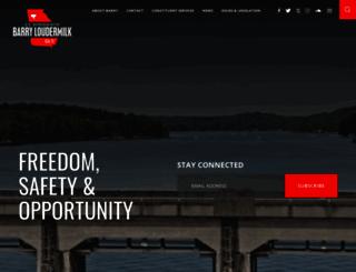 loudermilk.house.gov screenshot