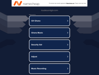 loudsoundgh.com screenshot