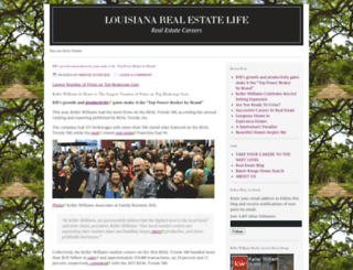 louisianarealestatelife.com screenshot