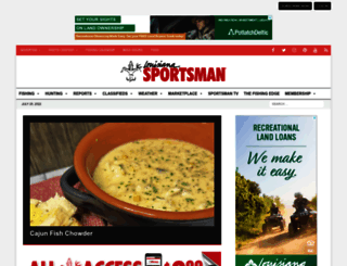 louisianasportsman.com screenshot