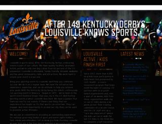 louisvillesports.org screenshot