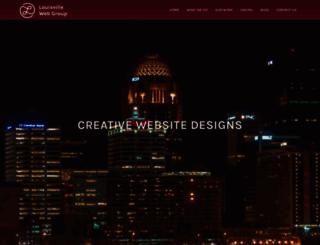 louisvillewebgroup.com screenshot