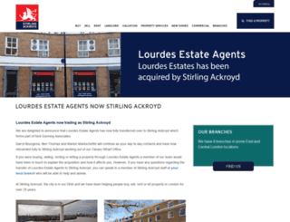 lourdes-estates.com screenshot