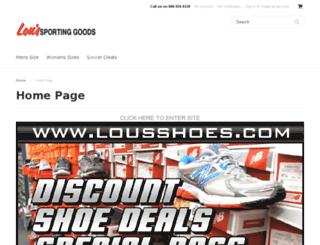 loussportinggoods.mybigcommerce.com screenshot
